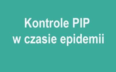 Kontrole PIP w czasie epidemii
